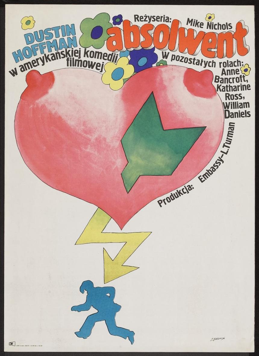 ABSOLWENT - Polish Poster by Macieji Zbikowski