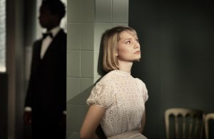 Mia Wasikowska in Richard Ayoade's The Double